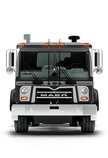 Front of Mack TerraPro Truck - New Semi Truck
